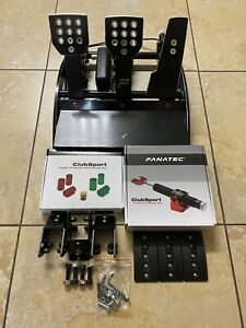 Fanatec Clubsport V3 Pedals (Upgraded/Custom) Xbox One PS4 PS5 PC