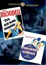 I'VE GOT YOUR NUMBER - HAVANA WIDOWS - (1934 ) Region Free DVD - Sealed
