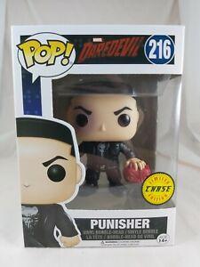 Marvel Funko Pop - Punisher (Chase) - Daredevil - No 216