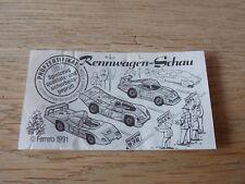 BPZ Nr. 619264   Rennwagen-Schau  D 1991
