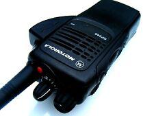 Motorola GP340 Vhf 5W profesional de dos vías de radio Walkie Talkie 16 Canales