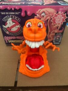 1989 the real ghostbusters gooper ghost squisher vintage kenner - rare