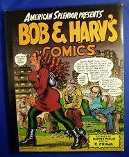 American Splendor Presents Bob & Harv's Comics. underground pb 1st  . VFN