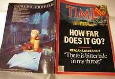 TIME Magazine December 8,1986 No Label, Ronald Reagan Interview, Iran Contra
