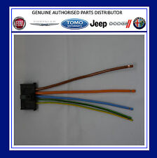 Fiat Grande Punto Heater Motor Resistor Wiring Loom Repair Kit Plug Connector