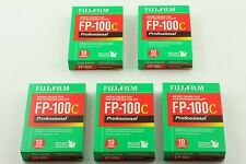 Fujifilm  FP-100C Instant Color Film 5pieces  Expired 02/2011 From Japan【New】