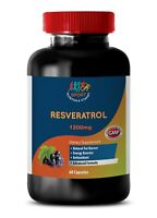 Thistle Oil - RESVERATROL SUPREME 1200MG - A Natural Anti-Oxidant Blend - 1Bot
