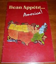 Bean Cookbook : Bean Appetit America ! Product CookBooklet with Joan of Arc