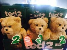 Ted 2 NEW RELEASE Talking Backpack Clip Plush (R-Rated) Teddy Bear NWT