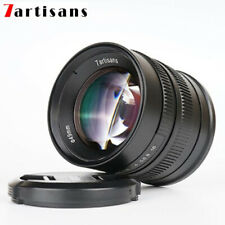 7artisans 55mm F1.4 Manual Focus Lens for Sony E Canon EF-M Fuji X M43 Camera