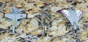 Zee Toys F-14 Tomcat F-15 Eagle F-18 Hornet Diecast Model Jets A124 A143 A145