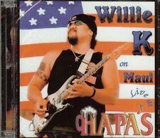 Willie K -  On Maui - LIVE AT HAPAS - CD - NEW