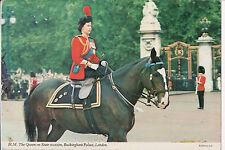 Vintage Postcard Queen Elisabeth II  of Great Britian