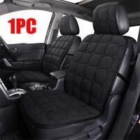 Black Plush Car Seat Cushion Protector Cover Universal Car Interior Accessories