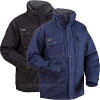 Blaklader Jacket Mens Toughguy Pile Lined Jackets Pockets 4816 Black Blue M-3XL