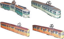Straßenbahn Duisburg! Kartonmodell Bausatz Bastelbogen ! Diverse Fahrzeugtypen!