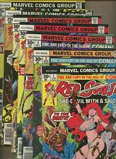 Red Sonja 1,2,3,4,5,6,7 *7 Book* 1st Solo series! She-Devil with a Sword! Marvel