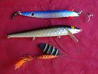 3X ABU GARCIA FISHING LURES, TOBY ROCKET 20G, REEFLEX 12G & KILLER IMP