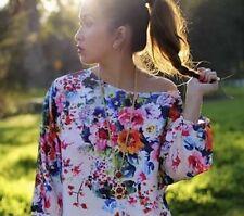 Zara Floral Sleeveless Dresses Midi for Women