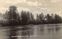 RPPC Wisconsin Riveer, Eagle River, Wisc. - Antique REAL PHOTO Postcard