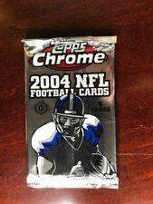 2004 Topps Chrome Football Hobby Pack