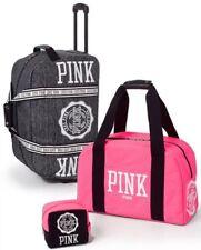 Victoria's Secret PINK 3-Piece Set: Wheelie + Carry-On Duffle + Cosmetic Bag NWT