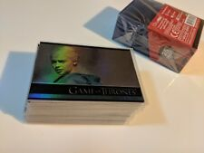 Game of Thrones Season 3 Foil Base Set/Lot Daenerys Tyrion Lannister 46 Cards!