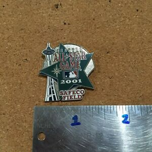 2001 SEATLE MARINERS ALL STAR GAME SAFECO FIELD 1.25'' X 1.25'' BASEBALL PIN