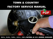 CHRYSLER TOWN & COUNTRY DIESEL 1996 1997 1998 1999 2000 SERVICE REPAIR MANUAL