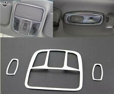 3*Interior Front + Rear Reading Light Lamp Cover Tirm For Kia Sorento 2016