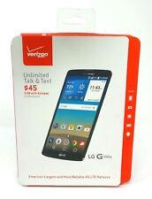 "LG G Vista VS880 5.7"" Screen Smartphone Verizon Page Plus 8GB Black 4G LTE New"