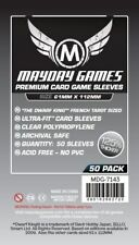 Mayday Games Premium Dwarf King Tarot Sized Clear Board Game Card Sleeves