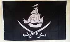 Pirate Flag 3' X 5', Pirate Ship Flag, Pirate Scabbard ships from California !