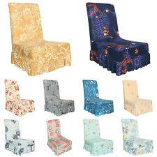 Removable Stretch Spandex Chair Covers Slipcovers Dining Seat Cover Party Decor