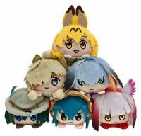 Kemono Friends Plush Mascot BOX 6 pcs Set Doll Stuffed Toy From Japan F/S NEW