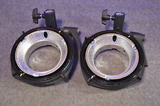 Pair (2) Elinchrom Ranger Quadra Reflector Adaptor for EL Reflectors - EL 26339