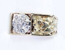 Men's 1/3 Ct TW Diamond Ring 14K Yellow Gold Size 9 3/4  WHOLESALE