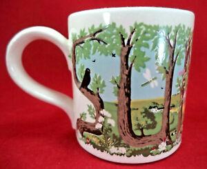 National Trust Boncath Pottery Mug 1979 Dorn Williams Summer Design Seasons