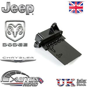 Heater Blower Motor Resistor Control Module Jeep Chrysler Dodge - 05139719AA