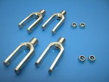 Genuine Lauterbacher aluminium-forks for Reely Carbon-Fighter