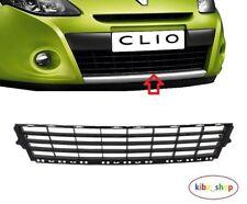 Renault Clio III mk3 2009-2012 Pare-Chocs Avant Centre Inférieur Calandre Noir Neuf