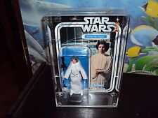 STAR WARS 40TH ANNIVARSARY FIGURES THIS SALE IS FOR ACRYLIC CASES ONLY NO TOYS