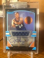 2003-04 Bowman Signature Jarvis Hayes JERSEY RELIC AUTO RC /1250 WIZARDS