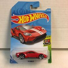 '17 Ford GT #240 * RED * 2018 Hot Wheels K Case International * B30
