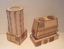 Cooling Tower scenery Terrain warhammer 40k wargame Infinity wargaming building