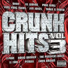 Crunk Hits, Vol. 3 [PA] by Various Artists (CD, Jan-2007, TVT (Dist.))