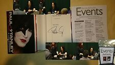 Paul Stanley Face the Music KISS K.I.S.S. Signed BOOK 1/1 DJ HC Starchild Guitar