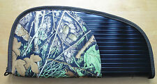 handgun (hand gun pistol) soft case: strong fabric and camo color