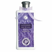 Leganza Relaxing Shower Gel with Organic Lavender Essential Oil