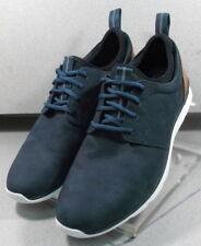 f4c9c436e75d 252949 PF50 Men s Shoes Size 12 M Navy Leather Lace Up Johnston   Murphy
